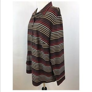 Coldwater Creek Tops - Coldwater Creek No Iron Tunic